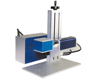Separate Portable Fiber Marking And Engraving Machine